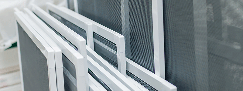 custom window screens repairs