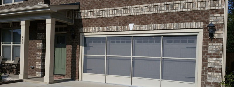 sliding garage door screens